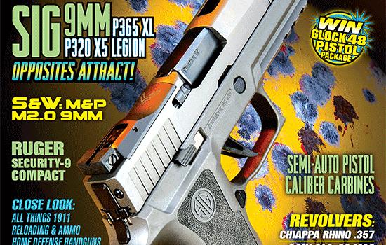 American Handgunner Magazine cover Mar-Apr 2020
