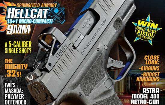 cover of American Handgunner Magazine May-June 2020
