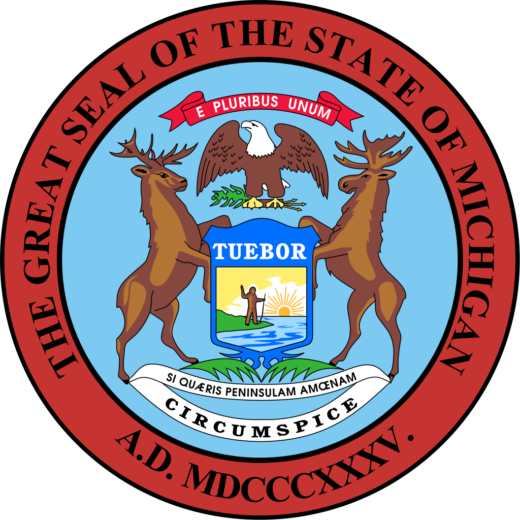 Picture of the seal of the State of Michigan